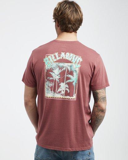 3 Warp - Camiseta de Manga Corta para Hombre  Q1SS49BIF9 Billabong