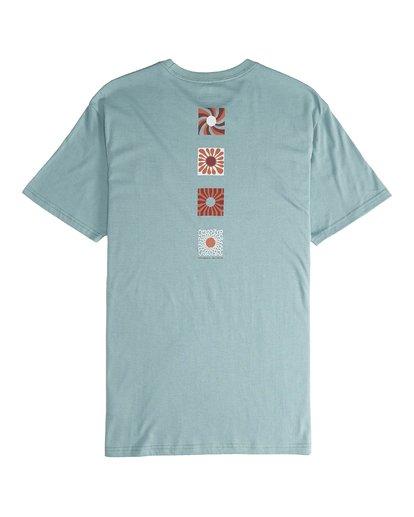 6 Dawn Patrol - T-Shirt für Männer Grün Q1SS52BIF9 Billabong