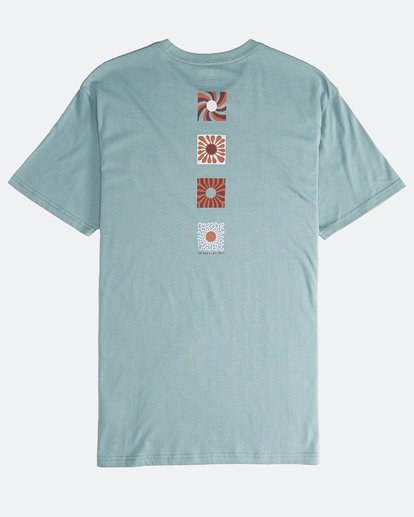1 Dawn Patrol - T-Shirt für Männer Grün Q1SS52BIF9 Billabong