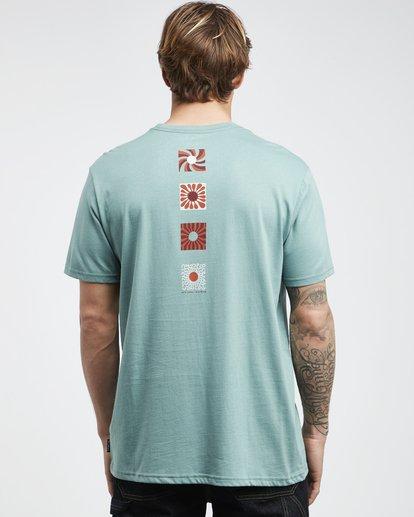 8 Dawn Patrol - T-Shirt für Männer Grün Q1SS52BIF9 Billabong