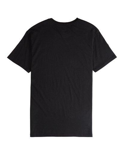 5 Line Up - Camiseta de Manga Corta para Hombre Negro Q1SS53BIF9 Billabong