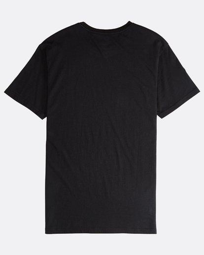 1 Line Up - Camiseta de Manga Corta para Hombre Negro Q1SS53BIF9 Billabong