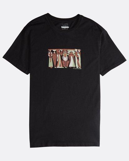 0 Line Up - Camiseta de Manga Corta para Hombre  Q1SS53BIF9 Billabong