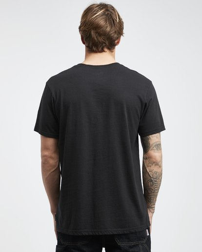 7 Line Up - Camiseta de Manga Corta para Hombre Negro Q1SS53BIF9 Billabong