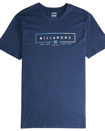 4 Unity - T-Shirt für Männer Blau Q1SS57BIF9 Billabong