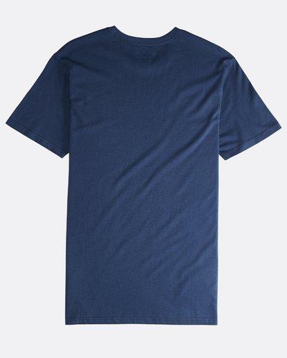 1 Unity - Camiseta de Manga Corta para Hombre Azul Q1SS57BIF9 Billabong