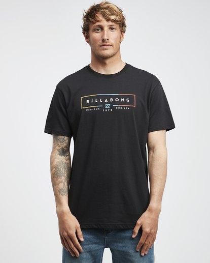 6 Unity - T-Shirt für Männer Schwarz Q1SS57BIF9 Billabong
