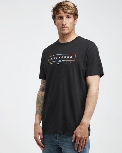 2 Unity - T-Shirt für Männer Schwarz Q1SS57BIF9 Billabong