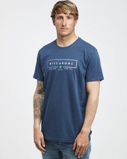 2 Unity - Camiseta de Manga Corta para Hombre Azul Q1SS57BIF9 Billabong