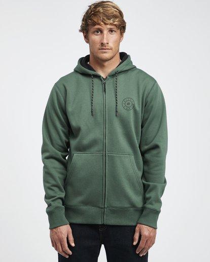 10 Starweather - Kapuzenjacke für Männer Grün Q1ZH06BIF9 Billabong