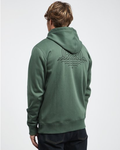 11 Starweather - Kapuzenjacke für Männer Grün Q1ZH06BIF9 Billabong