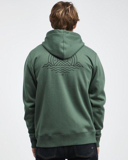 12 Starweather - Kapuzenjacke für Männer Grün Q1ZH06BIF9 Billabong