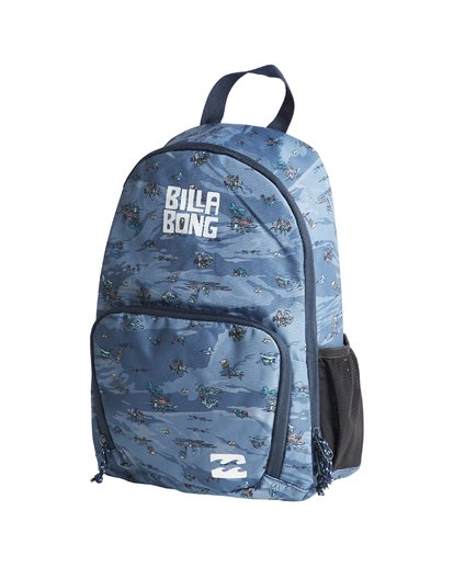 3 Grom - Rucksack für Jungen Blau Q2BP02BIF9 Billabong