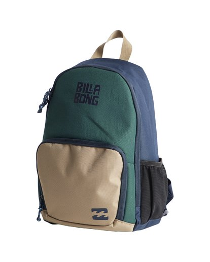 3 Grom - Backpack for Boys Green Q2BP02BIF9 Billabong