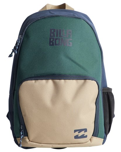 0 Grom - Backpack for Boys Green Q2BP02BIF9 Billabong