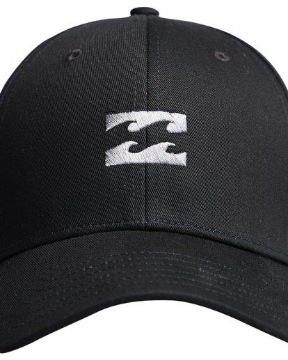 4 All Night - Snapback Boy Cap for Boys Black Q2CM01BIF9 Billabong