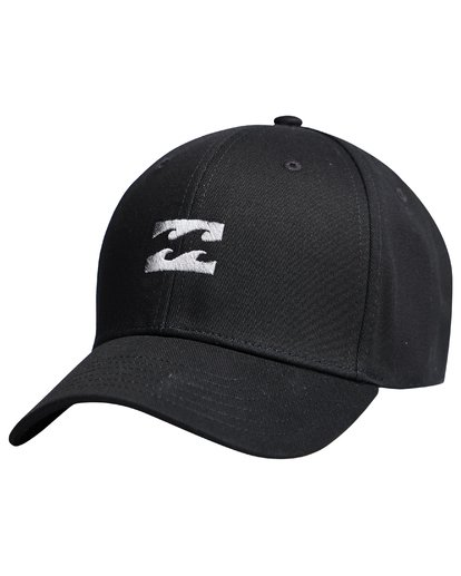 6 All Night - Snapback Boy Cap for Boys Black Q2CM01BIF9 Billabong
