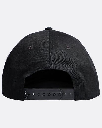 1 All Night - Snapback Boy Cap for Boys Black Q2CM01BIF9 Billabong
