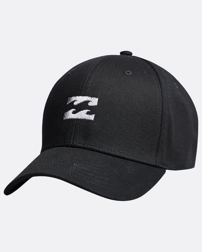3 All Night - Snapback Boy Cap for Boys Black Q2CM01BIF9 Billabong
