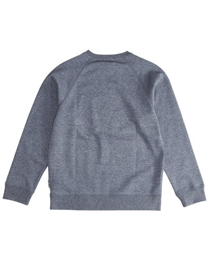 3 Trade Mark - Trademark Crew Fleece für Jungen Blau Q2CR01BIF9 Billabong