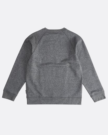1 Trade Mark - Trademark Crew Fleece für Jungen Schwarz Q2CR01BIF9 Billabong