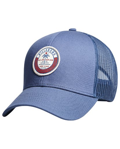 11 Walled - Trucker Cap for Boys Blue Q2CT02BIF9 Billabong