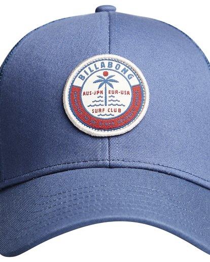 9 Walled - Trucker Cap for Boys Blue Q2CT02BIF9 Billabong