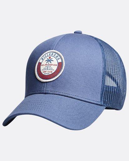8 Walled - Trucker Cap for Boys Blue Q2CT02BIF9 Billabong