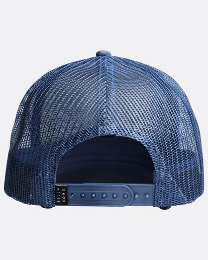 1 Walled - Trucker Cap for Boys Blue Q2CT02BIF9 Billabong