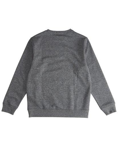 3 All Day - Crew Pullover für Jungen Schwarz Q2FL01BIF9 Billabong