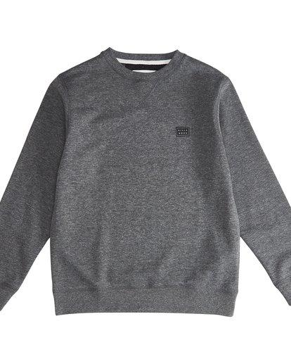 2 All Day - Crew Pullover für Jungen Schwarz Q2FL01BIF9 Billabong
