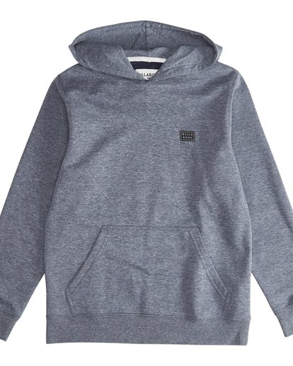 2 All Day Po - Sudadera con Capucha para Chicos Azul Q2FL04BIF9 Billabong