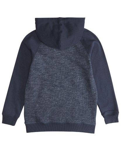 3 Balance Po - Hoodie für Jungen Blau Q2FL05BIF9 Billabong