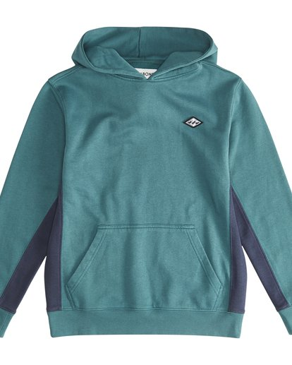 2 Wave Washed - Pullover für Jungen Grün Q2FL06BIF9 Billabong