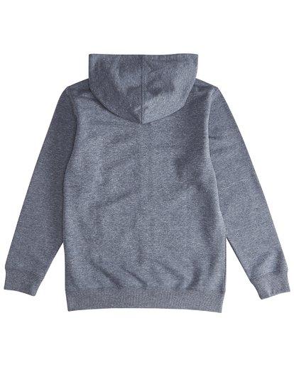 3 All Day - Pull zippé à capuche pour Garçon Bleu Q2FL08BIF9 Billabong