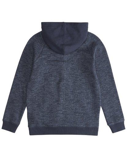 3 Balance - Pull zippé à capuche pour Garçon Bleu Q2FL10BIF9 Billabong