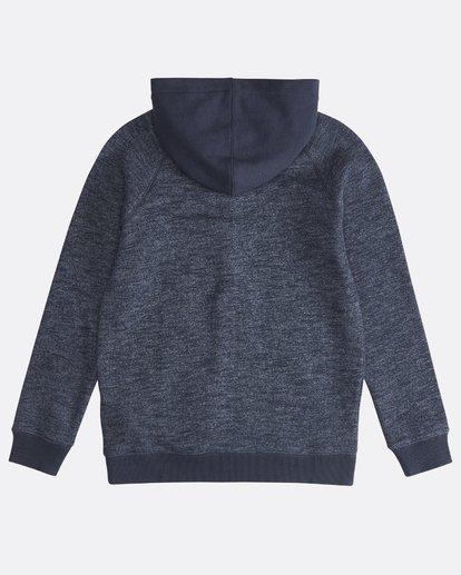1 Balance - Pull zippé à capuche pour Garçon Bleu Q2FL10BIF9 Billabong