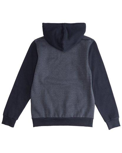 3 Super 8 - Hoodie für Jungen Blau Q2HO04BIF9 Billabong