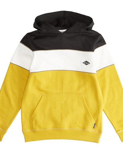 2 Edge - Sudadera con Capucha Hedge para Chicos Amarillo Q2HO10BIF9 Billabong