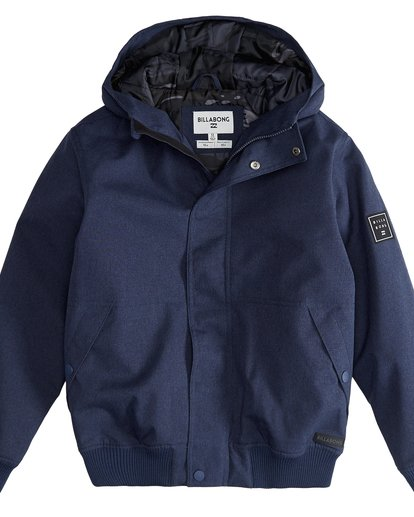 2 All Day - 10K Boy Jacket for Boys Blue Q2JK05BIF9 Billabong