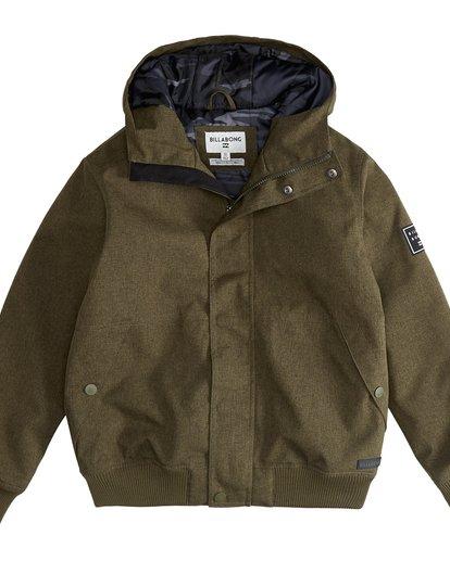 2 All Day - 10K Jacke für Jungen Grün Q2JK05BIF9 Billabong