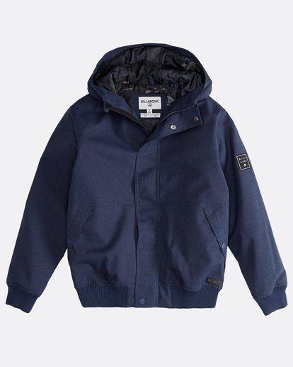 0 All Day - 10K Boy Jacket for Boys Blue Q2JK05BIF9 Billabong