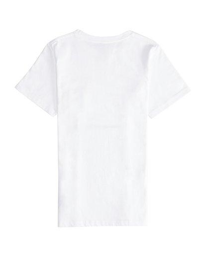 3 Stacked - T-Shirt für Jungen Weiss Q2SS01BIF9 Billabong