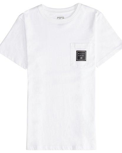 2 Stacked - T-Shirt für Jungen Weiss Q2SS01BIF9 Billabong