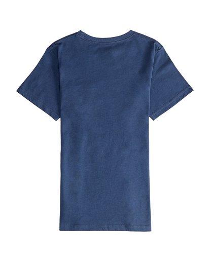 3 Stacked - Maglietta a Maniche Corte da Ragazzo Blue Q2SS01BIF9 Billabong