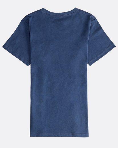 1 Stacked - Maglietta a Maniche Corte da Ragazzo Blue Q2SS01BIF9 Billabong