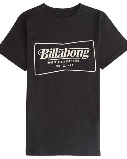 2 Trade Mark - T-Shirt für Jungen Schwarz Q2SS03BIF9 Billabong