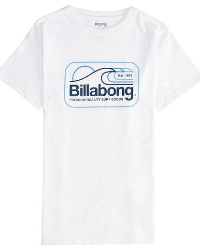 2 Dive - T-Shirt für Jungen Weiss Q2SS07BIF9 Billabong