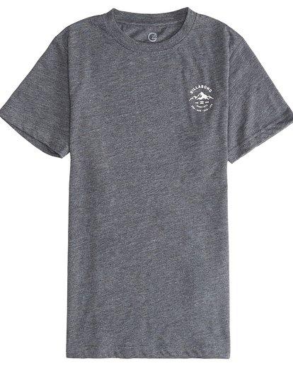 2 Aurora - Camiseta de Manga Corta para Chicos Gris Q2SS11BIF9 Billabong