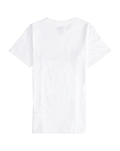 3 Inversed - Camiseta de Manga Corta para Chicos Blanco Q2SS12BIF9 Billabong